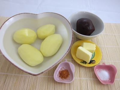 Ingrédients pour la recette : Betterave et pommes de terre en purée