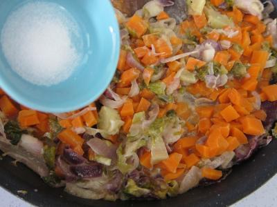 Cabillaud aux cacahuètes et aux légumes - 6.3