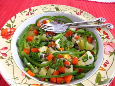 Recette Salade et sauce au parfum de Russie