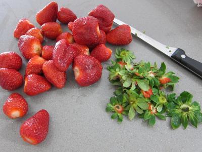 Blinis aux fraises et aux fruits - 3.4