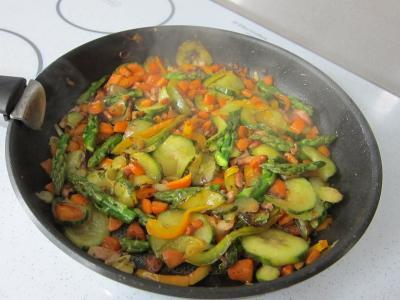 Omelettes aux carottes et aux légumes - 7.2