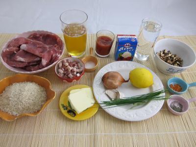 Ingrédients pour la recette : Braisé de porc façon flamande