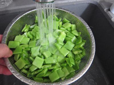 Tartare de boeuf aux haricots plats - 5.4