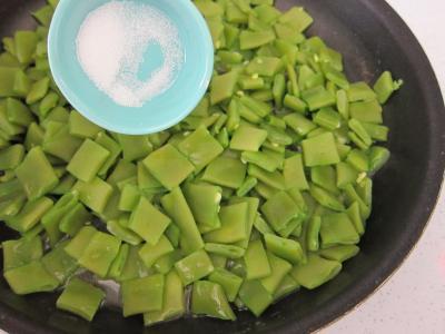 Tartare de boeuf aux haricots plats - 9.3