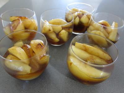 Chantilly au chocolat et ses poires au caramel - 2.2