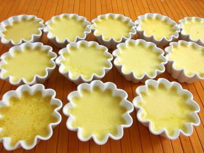Recette Des ramequins d'oeufs au lait faciles