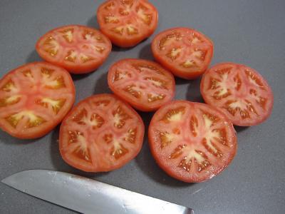 Tomates farcies chipolatas et merguez - 2.2