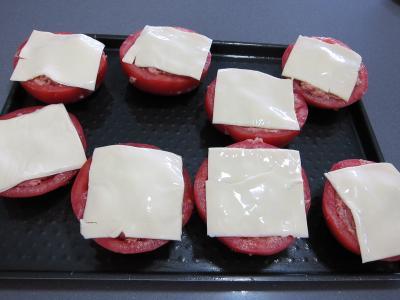 Tomates farcies chipolatas et merguez - 5.4