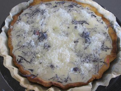 Quiche au chou rouge - 8.1