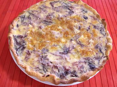 Quiche au chou rouge - 8.3