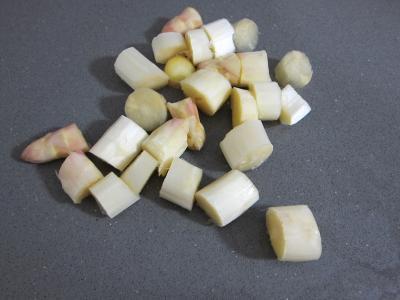 Mâche en velouté et sa gaufrette à la mozzarella - 2.2