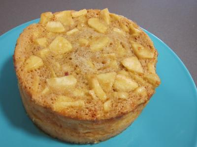 Pudding aux pommes et son coulis de framboises - 6.1
