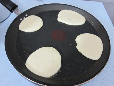 Pancakes au miel - 3.4
