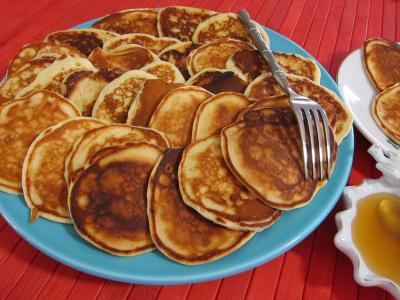 Pancakes au miel - 4.2