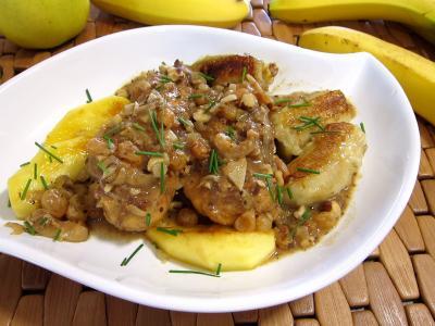 Recette Plat d'escalopes de poulet à la mexicaine, revisitées
