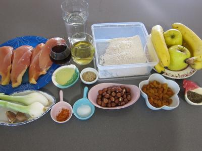 Ingrédients pour la recette : Escalopes de poulet à la mexicaine, revisitées