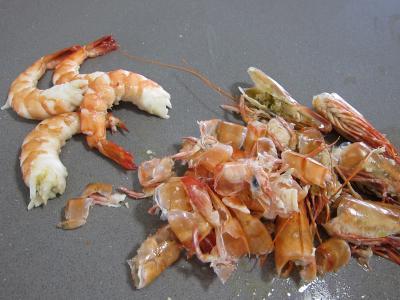 Vermicelle de riz et crevettes en salade - 2.3