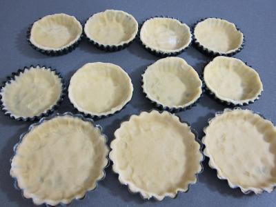 Tartelettes au brie et au jambon - 4.1