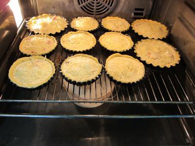 Tartelettes au brie et au jambon - 8.1