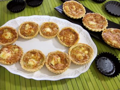 Tartelettes au brie et au jambon - 8.3