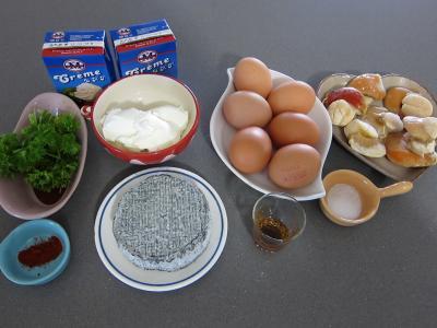 Ingrédients pour la recette : Cassolette de fromage Selles sur Cher