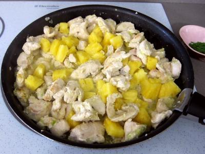 Blancs de dinde à l'ananas - 6.4