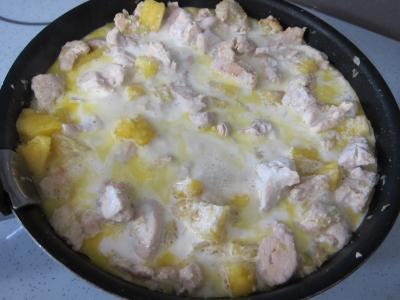 Blancs de dinde à l'ananas - 7.2