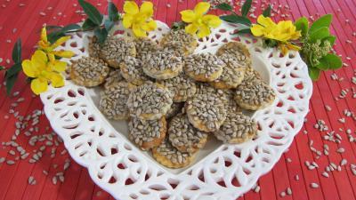Recette Assiette de canapés aux graines de tournesol