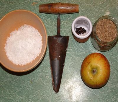 Ingrédients pour la recette : Préparation du chou de la choucroute