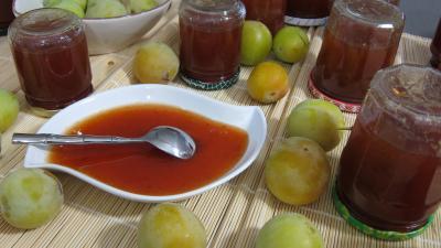 Recette Confiture de prunes blanches