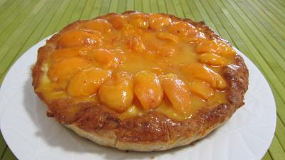 Recette Croustade aux abricots