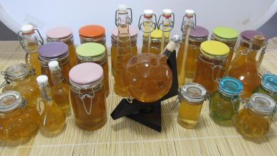 Cuisson à l'autocuiseur : Les différents bocaux pour la liqueur de mirabelles au gin