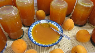 Recette Confiture d'abricots