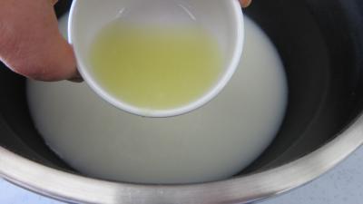 Soupe de poulet au lait d'amandes et de noix de coco - 5.3