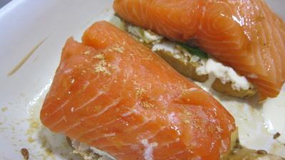 Bruschettas de saumon - 7.4