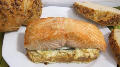 Recette Bruschettas de saumon