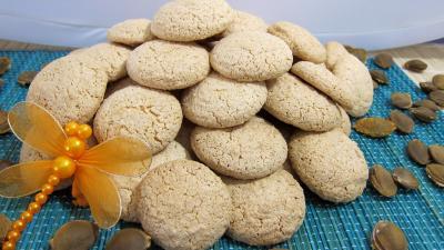 Dessert meringué : Les amarettis