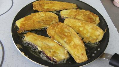 Crostinis d'aubergines et son concassé de boeuf façon Italienne - 6.3