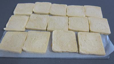 Sandwichs à l'aubergine et au jambon - 3.1