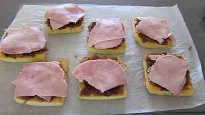 Sandwichs à l'aubergine et au jambon - 10.1