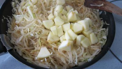 Compotée de chou aux figues et aux pommes - 7.1
