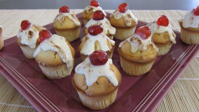 Recette Assiette de cupcakes à la brousse