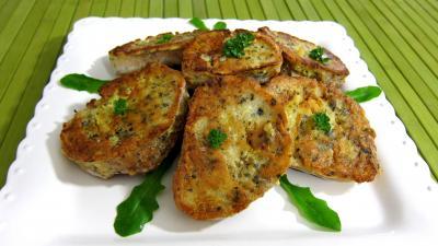 Recette Assiette de canapés aux oeufs